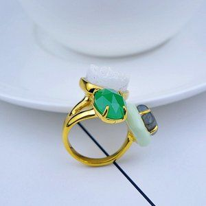 Alexis Bittar Multicolor Gemstone Ring